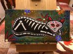Acrylics on stretchedcanvas