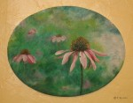 Acrylics on Stretched Canvas – PurpleConeflower