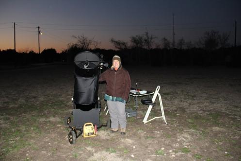 Observing locaton