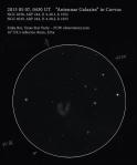 As seen through a 16-inch telescope