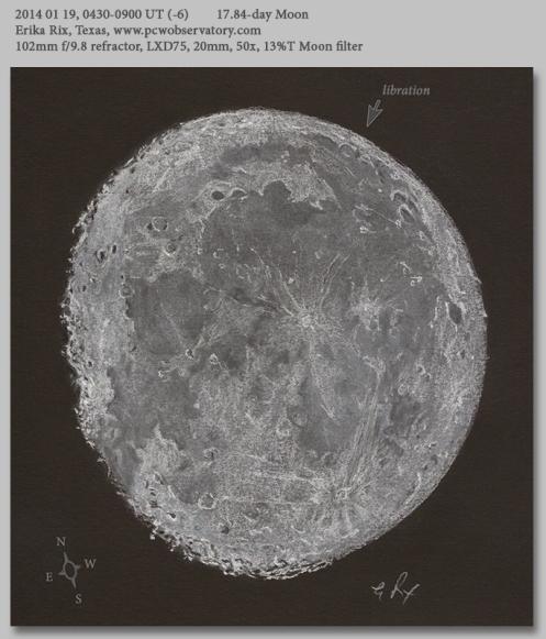 20140119 17.84d moon