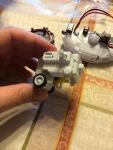 Assembled upper gear box